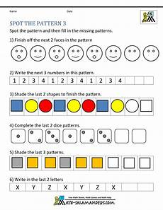 patterns worksheets for nursery 181 free kindergarten worksheets spot the patterns