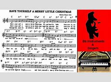 Chords Have Yourself A Merry Little Christmas-Have Yourself A Merry Little Christmas Piano