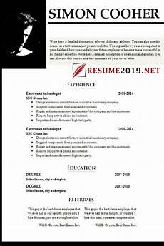 resume format best resume formats for 2019 3 proper exles latest resume format 2019 best resume 2019
