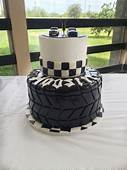 Race Car Grooms Cake  CakeCentralcom