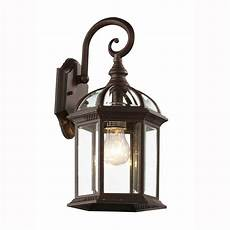 bel air lighting wall 1 light outdoor rust coach lantern with clear glass 4181 rt the