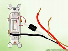 White And Black Two Wire Wiring Diagram Insulated by How To Wire A 3 Way Switch With Pictures Wikihow