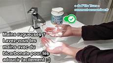 Mains Rugueuses Utilisez Du Bicarbonate Pour Les Adoucir
