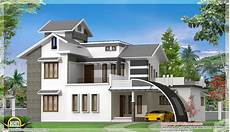 modern house plans in india contemporary indian house design 2700 sq ft kerala