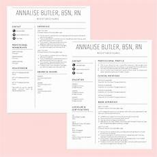 new graduate nurse resume template quot annalise quot from the resume rx
