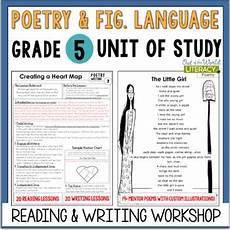 poem worksheet for grade 5 25418 poetry unit of study grade 5 by jen bengel teachers pay teachers
