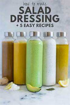 dressing für salat how to make salad dressing 5 healthy salad