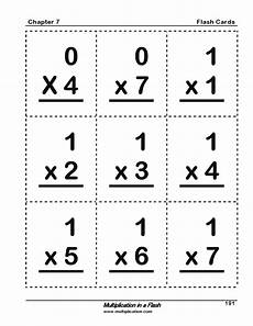 free printable basic math flash cards 10797 multiplication in a flash book multiplication