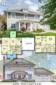 2 story traditional house plans plan 970077vc lovely two story traditional house plan