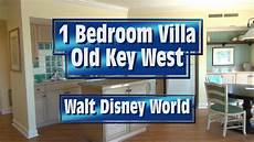 old key west one bedroom villa tour at walt disney world youtube