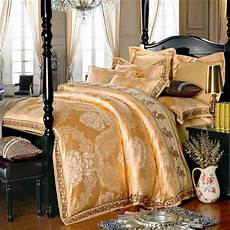 online get cheap gold satin sheets aliexpress com alibaba group
