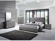 J&M Sorrento Queen Size Bedroom Set 5pc. Chic Modern Style
