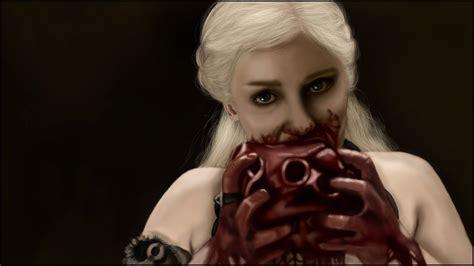 Khaleesi Eating Heart