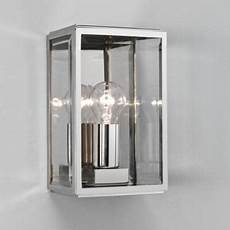 astro polished chrome ip44 garden wall light electricsandlighting co uk