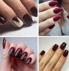 burgundy nails 45 nail designs for different shapes