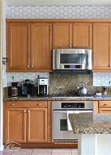 how to wallpaper a backsplash the homes i made