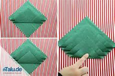 servietten weihnachtlich falten bilder19