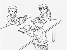 Gambar Kartun Sedang Belajar Di Sekolah Gokil Abis