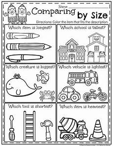 measurement printables for kindergarten 1853 measurement worksheets planning playtime