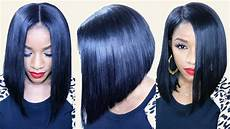 How To Cut Weave Into A Bob how to cut a flawless bob ft bestlacewigs hair extensions