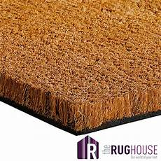 tappeto cocco grey coir entrance matting 1 meter width 17mm choose your