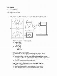 Gambar Lapangan Bola Basket Dan Ring Serta Ukurannya