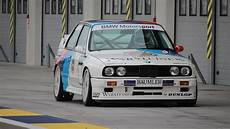 m3 e30 dtm bmw m3 e30 ex dtm sound on track 1987 chion ravaglia on board