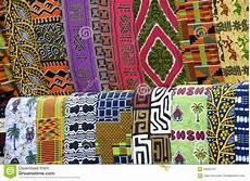 Afrikanische Muster Malvorlagen Gratis Afrikanische Stoff Muster Stockbild Bild Hell Afrika