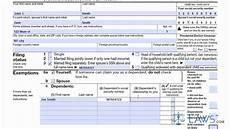 learn how to fill the form 1040a u s individual income