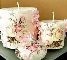 decoupage candele 849 best candles images on decorated candles
