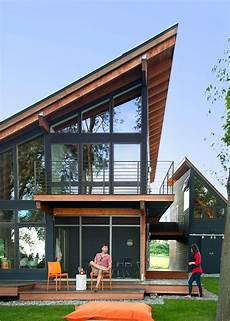 modern lakefront home with steep angled roof 2015 fresh faces of design awards hgtv