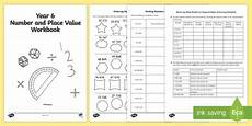 place value worksheets y6 5348 year 6 maths number and place value workbook year 6 number
