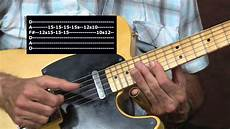 blues slide guitar electric blues slide guitar lesson johnny winter inspired open tuning mojo boogie style