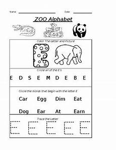 worksheets letter e 24613 the letter e worksheet by pointer education teachers pay teachers