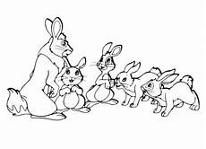 ausmalbilder hase gratis rabbit coloring pages