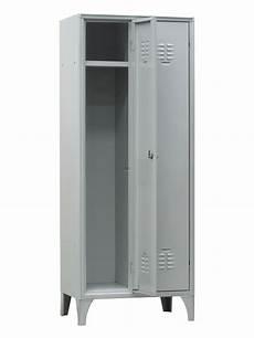 armadietto spogliatoio armadietto spogliatoio a 2 scomparti cm 60x50x180 h con