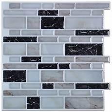 Kitchen Backsplash Stickers Art3d Peel And Stick Kitchen Or Bathroom Backsplash Tile