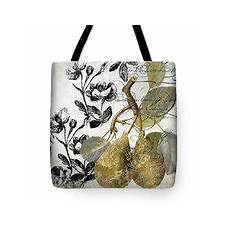 Totebag Fruit fruit shimmer ii painting by sommers