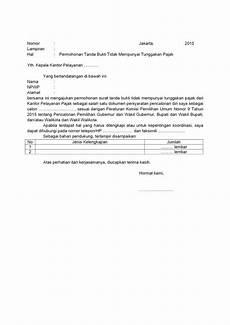 contoh surat pernyataan faktur hilang 61 untuk