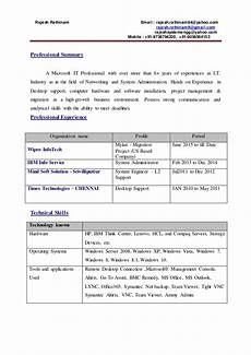hcl resume email
