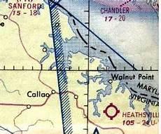 Virginia Aeronautical Chart Abandoned Amp Little Known Airfields Virginia Hampton Area