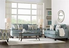 cypress gardens blue 5 pc living room living room sets blue