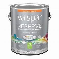 valspar reserve gloss latex interior paint and primer in one actual net contents 128 fl