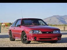 1988 ford mustang gt supercharged burnout review youtube