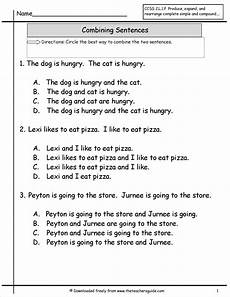sentences worksheets 19067 2 honesty pal and the conjunction and