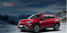 fiat 500x winter edition cozza automobili