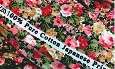 kain katun jepang apa itu katun jepang dan ciri cirinya
