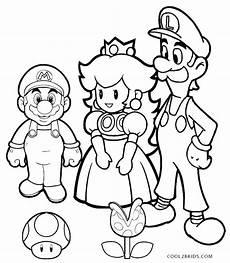 Gratis Malvorlagen Mario Und Luigi Mario And Luigi Coloring Pages At Getcolorings Free