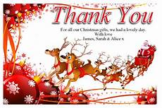 free christmas thank you cards free supportive guru