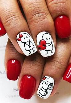 70 cute valentine nail art designs for 2019 fashion enzyme